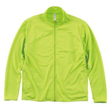 ドライジップジャケット024.ライトグリーン