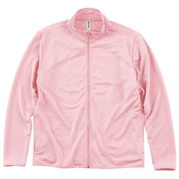 ドライジップジャケット132.ライトピンク