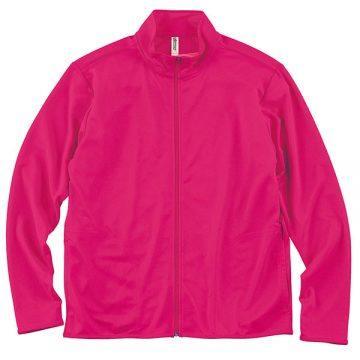 ドライジップジャケット146.ホットピンク