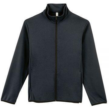 ドライスウェットジップジャケット005.ブラック
