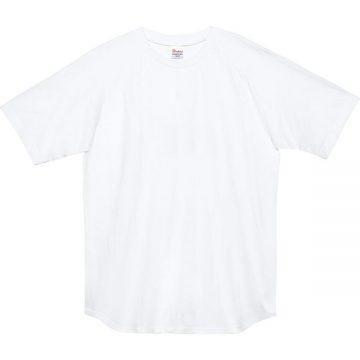 5.6オンスヘビーウエイトラグランTシャツ001.ホワイト
