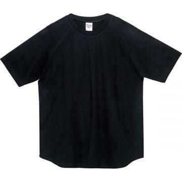 5.6オンスヘビーウエイトラグランTシャツ005.ブラック
