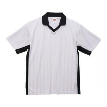 4.1オンスドライクラシックサッカーシャツ1002.ホワイト×ブラック