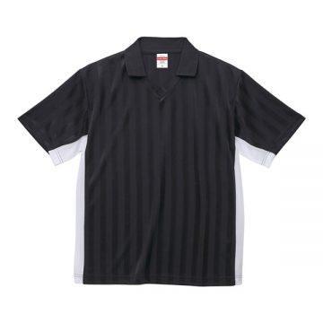 4.1オンスドライクラシックサッカーシャツ2001.ブラック×ホワイト