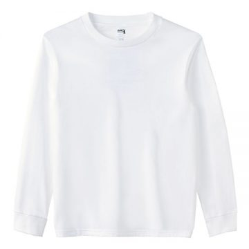 6.1オンスハンマー長袖Tシャツ000C.ホワイト