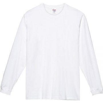 スーパーヘビー長袖Tシャツ001.ホワイト