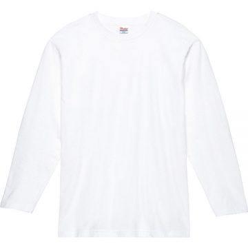 ヘビーウェイト長袖Tシャツ001.ホワイト