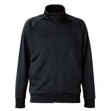 ドライスウェットラグランスリーブジャケット002.ブラック