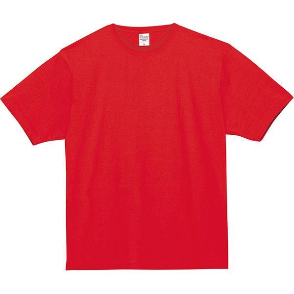 スーパーヘビーTシャツ148レッド