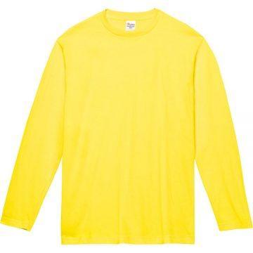 ヘビーウェイト長袖Tシャツ020.イエロー
