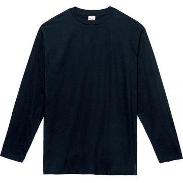 ヘビーウェイト長袖Tシャツ031.ネイビー