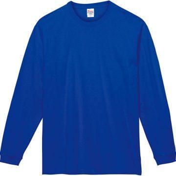 スーパーヘビー長袖Tシャツ032.ロイヤルブルー