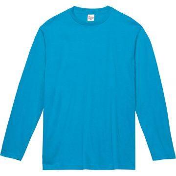 ヘビーウェイト長袖Tシャツ034.ターコイズ