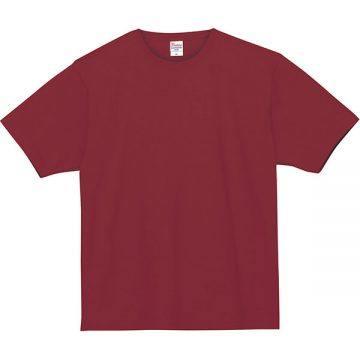 スーパーヘビーTシャツ112.バーガンディ