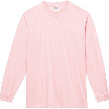 スーパーヘビー長袖Tシャツ132.ライトピンク