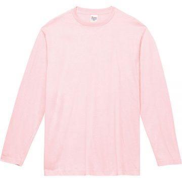 ヘビーウェイト長袖Tシャツ132.ライトピンク