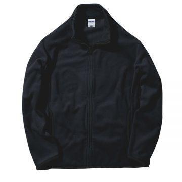 フリースジャケット16.ブラック