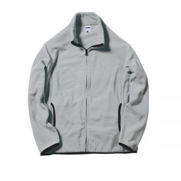 フリースジャケット2.グレー