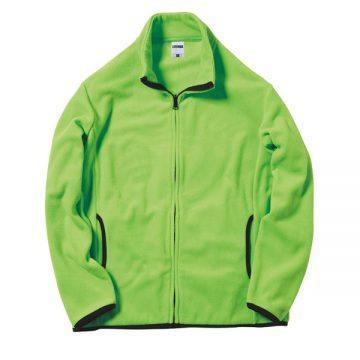 フリースジャケット21.ライトグリーン