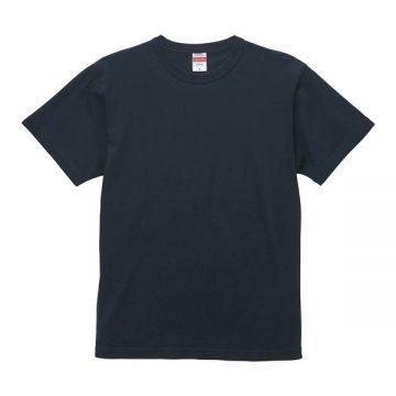 6.0オンス オープンエンド バインダーネックTシャツ740.ディープネイビー
