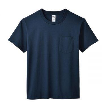 6.1オンスハンマーポケットTシャツ533C.ネイビー