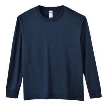 6.1オンスハンマー長袖Tシャツ533C.ネイビー