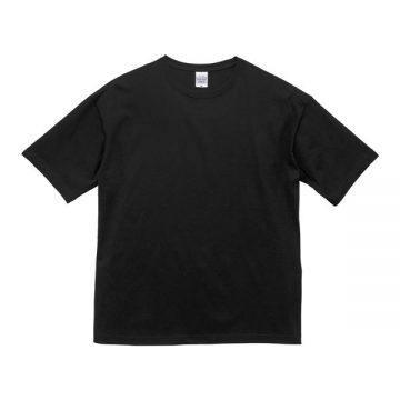ビッグシルエットTシャツ002.ブラック