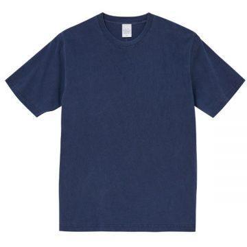 ピグメントダイTシャツ590.ヴィンテージネイビー