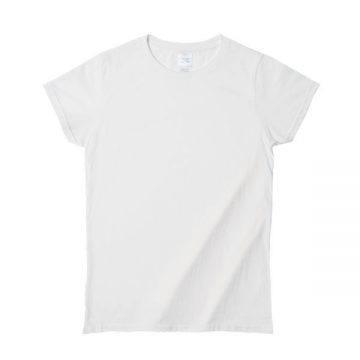 プレミアムコットンジャパンスペックレディースTシャツ000C.ホワイト