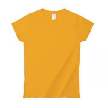 プレミアムコットンジャパンスペックレディースTシャツ1235C.ゴールド