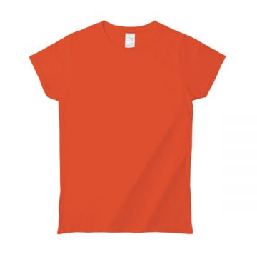 プレミアムコットンジャパンスペックレディースTシャツ2026C.オレンジ