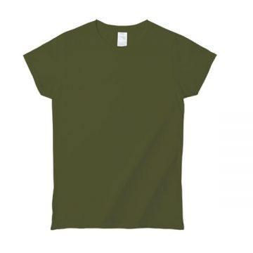 プレミアムコットンジャパンスペックレディースTシャツ5615C.ミリタリーグリーン