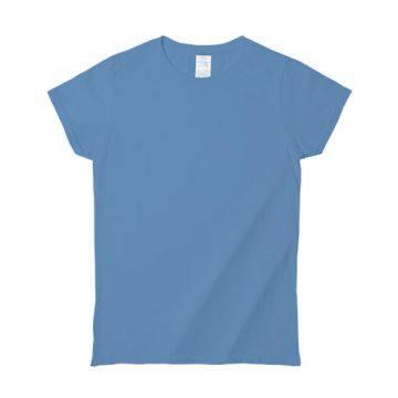 プレミアムコットンジャパンスペックレディースTシャツ659C.カロライナブルー