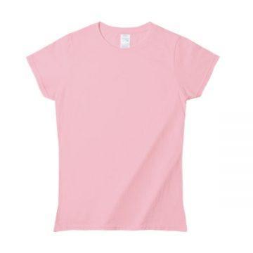 プレミアムコットンジャパンスペックレディースTシャツ684C.ライトピンク