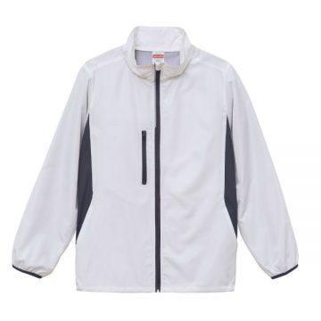 マイクロリップストップスタンドジャケット(裏地付)001.ホワイト
