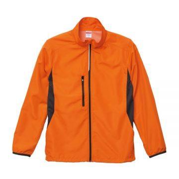 マイクロリップストップスタンドジャケット(裏地付)064.オレンジチャコール