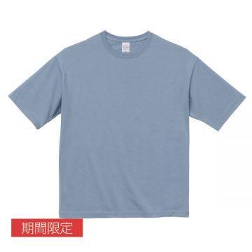 ビッグシルエットTシャツ247.アシッドブルー