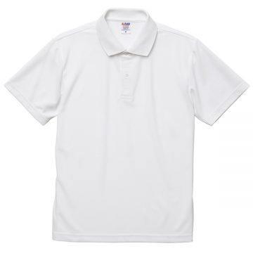 4.7オンススペシャルドライカノコポロシャツ001.ホワイト