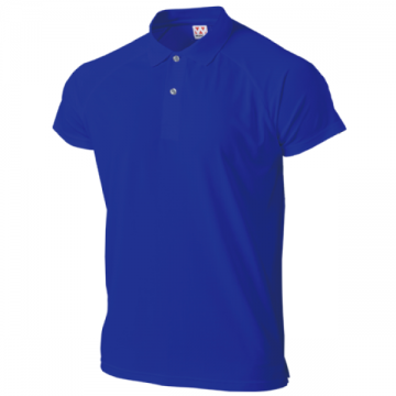 超軽量ドライラグランポロシャツ05.ロイヤルブルー