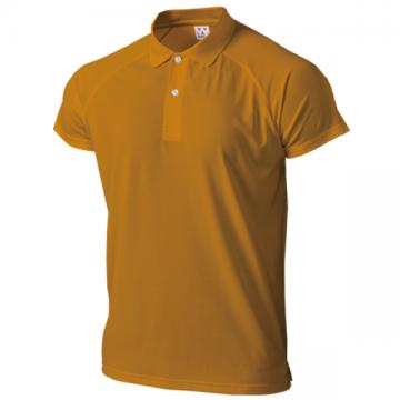 超軽量ドライラグランポロシャツ20.ブライトオレンジ