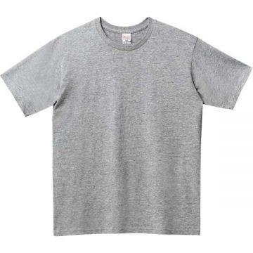 ベーシックTシャツ003.杢グレー