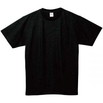 5.8オンスT/CクルーネックTシャツ005.ブラック