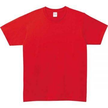 ベーシックTシャツ010.レッド