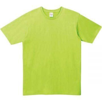 ベーシックTシャツ024.ライトグリーン