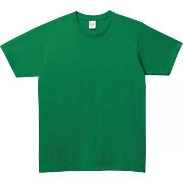 ベーシックTシャツ025.グリーン