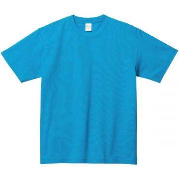 5.8オンスT/CクルーネックTシャツ034.ターコイズ