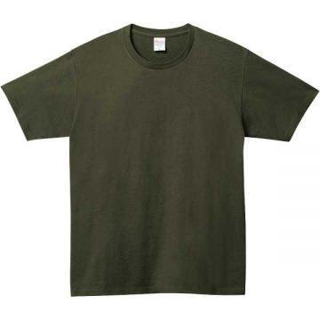 ベーシックTシャツ037.アーミーグリーン