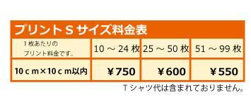 フルプリSサイズ料金