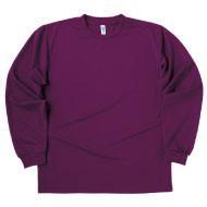 ドライロングスリーブTシャツ グリマー304