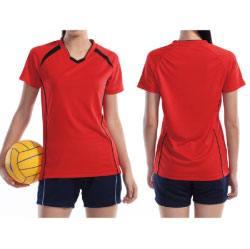 ウィメンズバレーボールシャツ wundou P1620